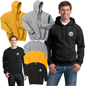 Pittsburgh Steelers Hooded and Crew Sweat Shirts  - up to 5x Embroidered
