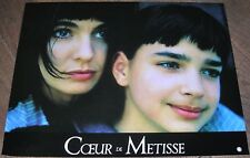 COEUR DE MÉTISSE - Anne Parillaud - SET 8 PHOTOGRAPHIES D'ÉPOQUE (1991)