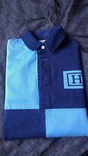 Hackett London Polo Camiseta De Rugby De Manga Larga para Hombre Casual Sportswear Blues Excelente