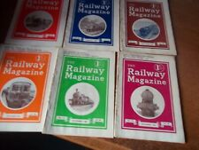 More details for the railway magazine half year 1940 6 copies vol 86 no 517-522 july / december