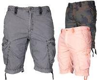 Jet Lag  Herren Cargo Shorts Kurze Hose Short Bermuda Knielang Sommer cargoshort