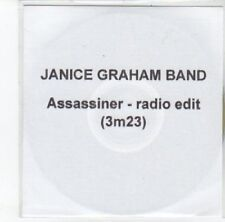 (DJ907) Janice Graham Band, Assassiner - 2012 DJ CD