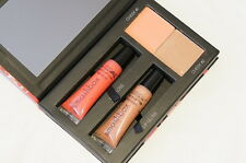 Smashbox Style Files Lip & Cheek Palette peachy pink coral suntan champagne