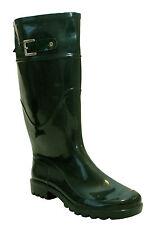 NEW WOMENS LADIES CALF FESTIVAL WELLIES WATERPROOF RAIN WELLINGTON BOOTS UK 3-9