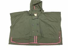 Princess Vera Wang Size Small/Medium Army Green Cape Jacket NEW