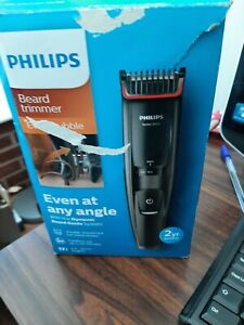 Philips Series 5000 Beard and Stubble Trimmer with Full Metal Blades BT5200