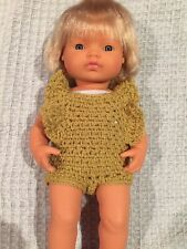 Hand Crocheted Dolls Clothes For 38 Cm Miniland Doll