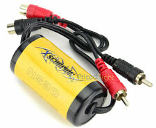 20 Amp Ground Loop Isolator Noise Killing Filter Suppressor RCA to RCA Car Home