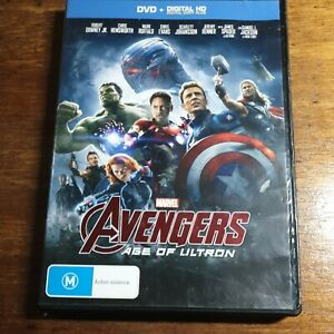 Avengers AGE OF ULTRON DVD R4 LIKE NEW FREE POST