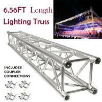 6.56FT (2 METERS) STRAIGHT SQUARE ALUMINUM TRUSS SEGMENT FOR PRO AUDIO LIGHTING