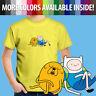 Adventure Time Finn Jake Napping Sleeping Cartoon Toddler Kids Tee Youth T-Shirt