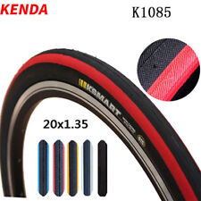 Kenda Bicycle Tyres 20x1.35 Folding Bike 406 Tire 60TPI Smooth Clincher Tires
