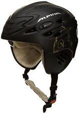 Alpina Scara Skihelm women ski helmet - Black Gold Silk Matt 55-59 cm