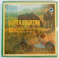 "Vintage Reader's digest pleasure programmed ""Super Country"" record set"