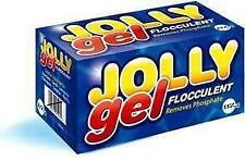 JOLLY GEL  CUBES SWIMMING POOL FLOCCULENT CLARIFIER  (4 CUBES PER BOX)