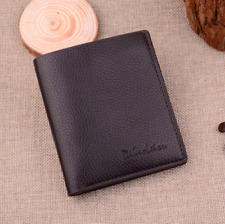 Faux Leather Mens Short Bifold Wallet Fold Coin Purse Credit Card Holder Clip
