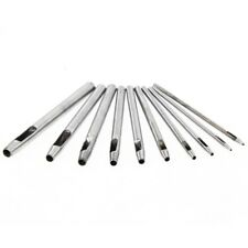 10 0.5mm 1mm 1.5mm 2mm 2.5mm 3mm 3.5mm 4mm 4.5mm 5mm Hollow Punch Round Hole cut