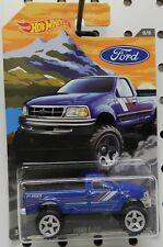 F150 F 150 BLUE 8 PICKUP 4X4 TRUCK FORD SERIES HW HOT WHEELS