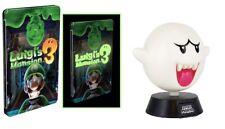 Luigi's Mansion 3 - Glow in the Dark Steelbook + Boo lamp