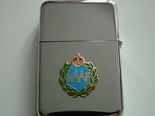 WAAF AIR FORCE  WINDPROOF CHROME PLATED LIGHTER