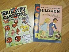Walter T. Foster Art Books How To Draw Children And Animated Art For Beginners