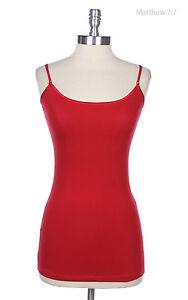 Women's Cami Camisoles Tank Tops For Women Long Tunic Cotton S M L 1XL 2XL 3X