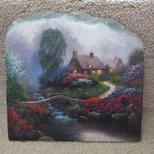 Slate Painting - Similiar to Thomas Kinkade