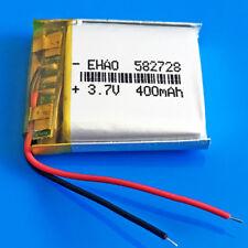 3.7V 400mAh Li Po Rechargeable Battery for Smart band MP3 MP4 PSP Speaker 582728