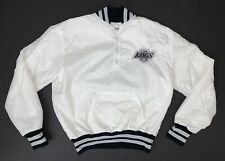 Vintage 90's Los Angeles Kings Windbreaker Jacket Size Adult M White