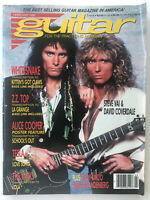 Guitar For The Practicing Musician Magazine Vintage February 1990 Vai&Coverdale