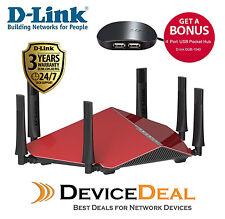 D-Link DIR-890L AC3200 Ultra Wi-Fi Gigabit Router - Get Free USB HUB