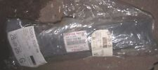 KAWASAKI NINJA ZX-6RR / ZX-6R /  Z1000 LEATHER REAR SEAT BLACK COVER  (NEW)