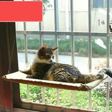 Cat Kitty Basking Window Hammock Perch Cushion Bed Hanging Shelf Seat Mounted M#