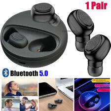 1 Pair Wireless Earbuds Bluetooth 5.0 Earphones Headphones For Apple iPhone iPad
