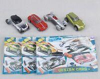Komplettsatz Design Cars 2004 mit 3 Beipackzetteln UeEi Autos BPZ deutsch