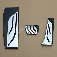 For BMW F20 F21 F22 F23 F30 F31 F32 F34 LHD Footrest Gas Brake Pedal Pad Covers