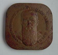 JEWS JEWISH Kolbe AUSCHWITZ  death CONCENTRATION CAMP POLISH POLAND 1977 medal