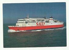 Sally car ferry postcard