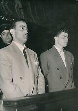 """PARIS 1953 -Faits Divers Jugement Agresseurs du """"Rosario"""" Bar Montmartre- PR 511"""
