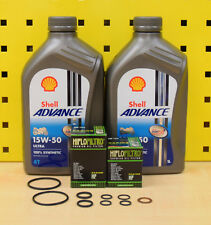 KTM 690 Duke / Enduro / SMC 12-17 Öl Ölfilter Shell Advance Ultra 15w50 R ABS