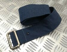 More details for   genuine british raf royal air force cloth no1 belt with double prong buckle