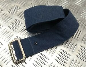 Genuine British RAF Royal Air Force Cloth No1 Belt With Double Prong Buckle