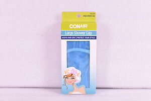 Conair Large Shower Cap to Keep Hair Dry, Assorted Colors