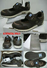 New* Womens 5 DC Hybrid Brown Leather Skate Shoes