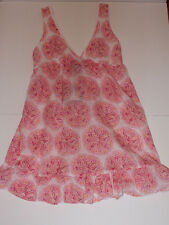 NWT Calypso St Barth Chemise Nightgown Cotton Lace Target Pajamas Full Bloom XS