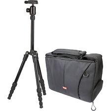 Sunpak Travelite 60 Trípode Aluminio con cámara bolsa