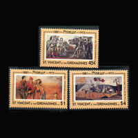 ST VINCENT, Sc #1881-83, MNH, 1993, Picasso, paintings, Cpl set, A5IID-B