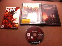 Sony PlayStation 2 PS2 CIB Complete Tested Final Fantasy VII Dirge of Cerberus