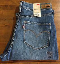 LEVI'S CURVE ID BOLD CURVE Straight Leg Jeans - Women's 10 Long NWT