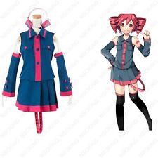 Anime VOCALOID Hatsune Miku kasane teto Cosplay Costume